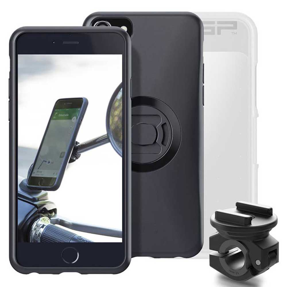 Sp Connect Iphone 8/7/6s/6 Moto Rearview Mirror Full Pack One Size Black / Clear