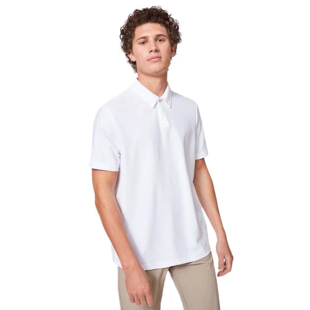 Oakley Apparel Polo Manche Courte Club House S White