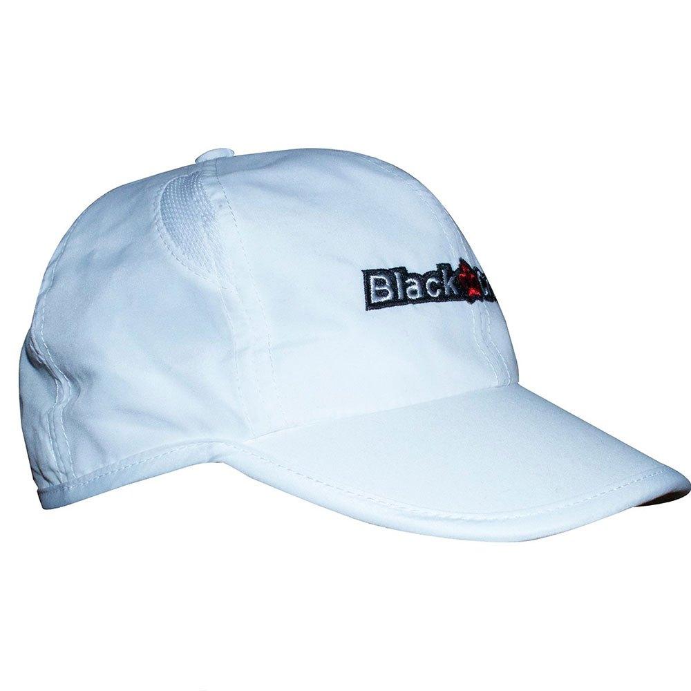 Black Crown Casquette Chapeau One Size White