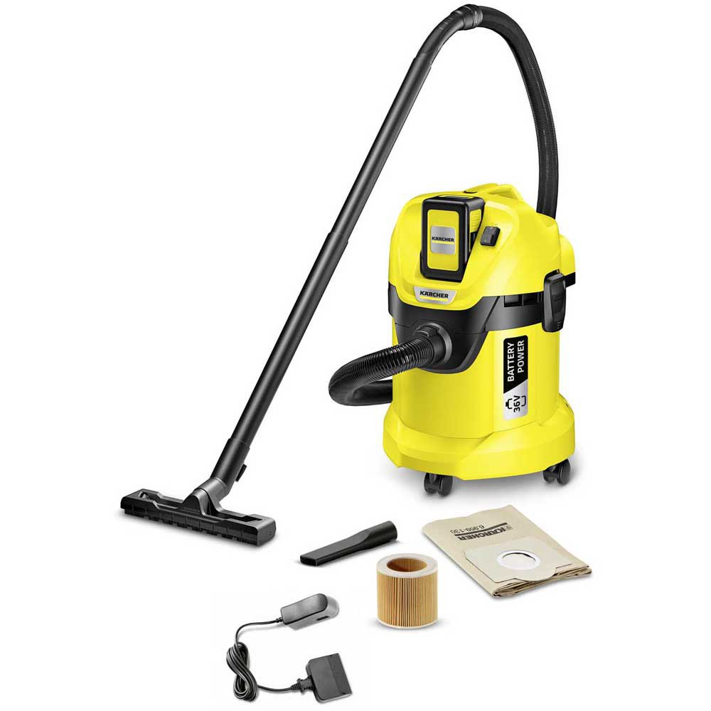 Aspiradora con bolsa Karcher Wd 3 Set One Size Black / Yellow