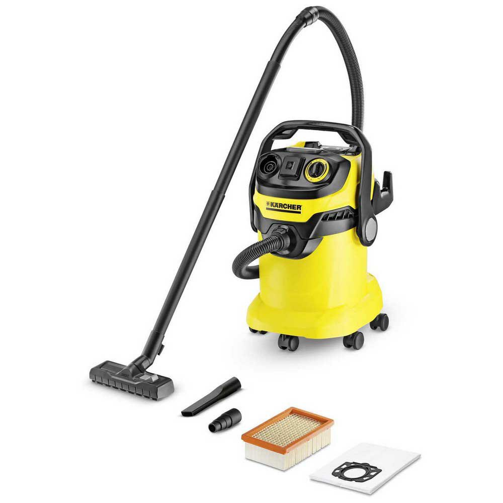 Aspiradora con bolsa Karcher Wd5p One Size Black / Yellow