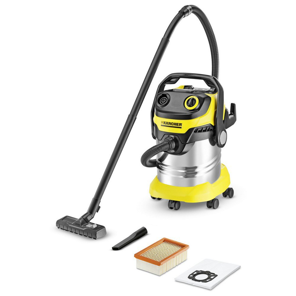 Aspiradora con bolsa Karcher Wd5 Premium One Size Black / Yellow