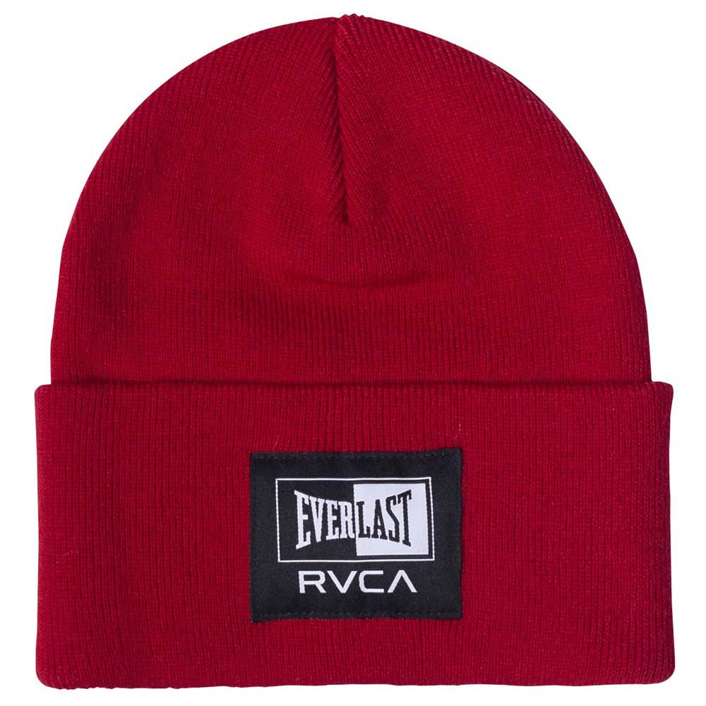 Rvca Everlast Beanie One Size Red