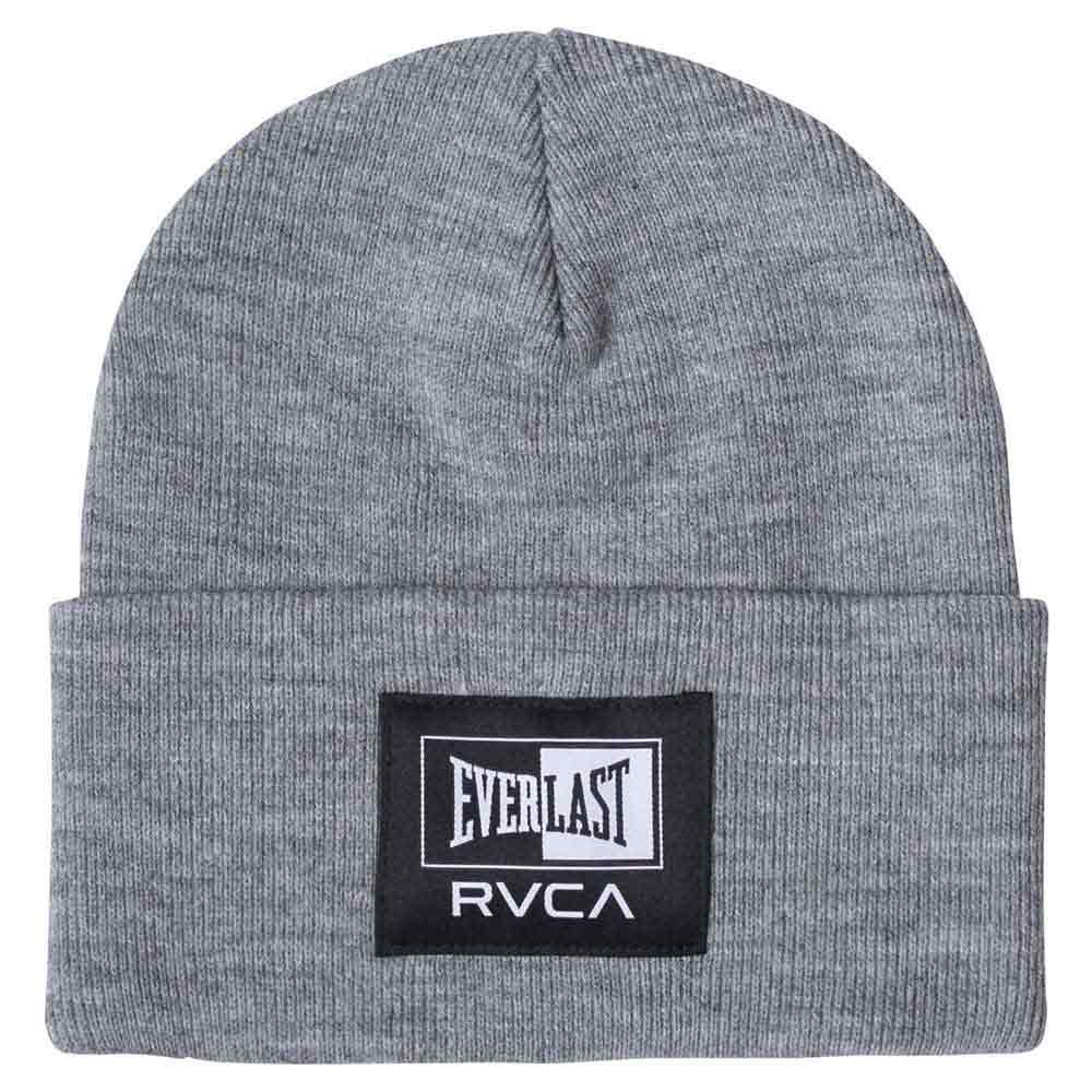 Rvca Everlast Beanie One Size Heather Grey