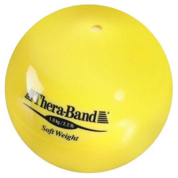 Theraband Médicine Ball Poids Léger 1kg 1 kg Yellow