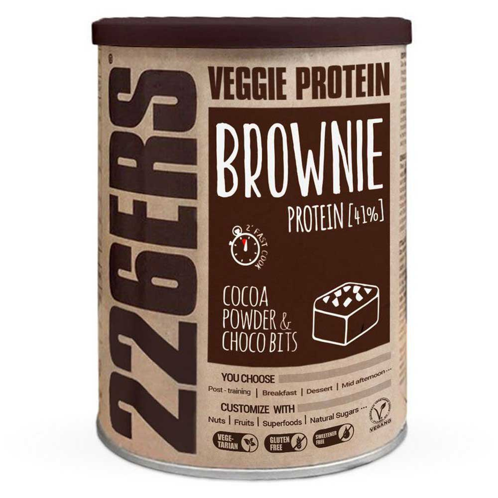 226ers Veggie Protein Brownie 420g Cocoa / Choco Bits