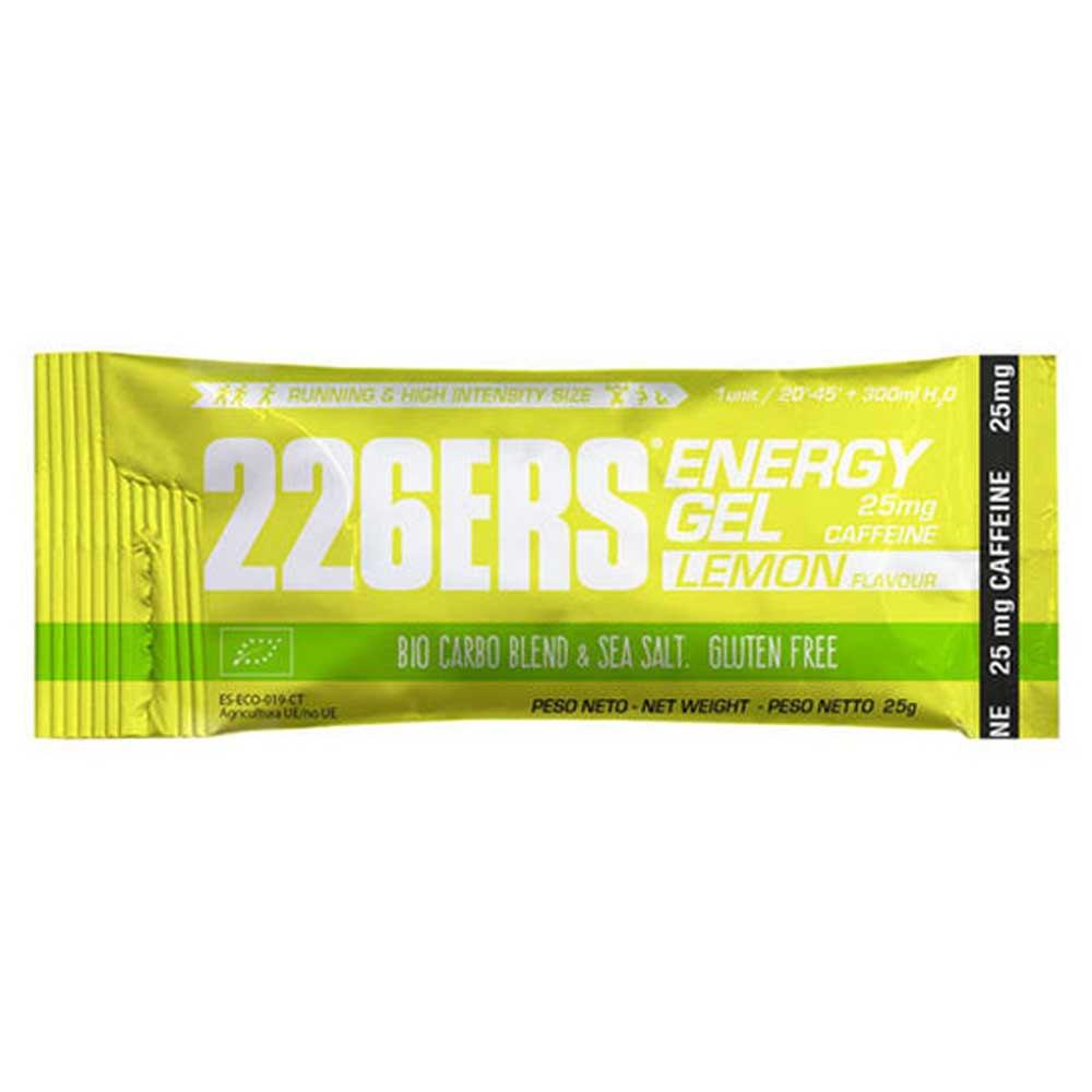 226ers Energy Gel Bio 25g 40 Units Caffeine Lemon