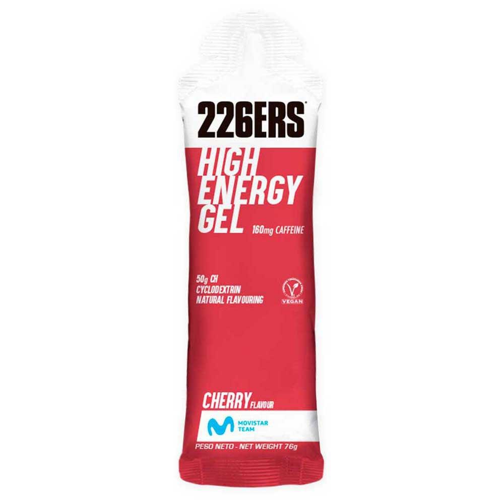 226ers High Energy Gel 60ml 24 Units Caffeine Cherry