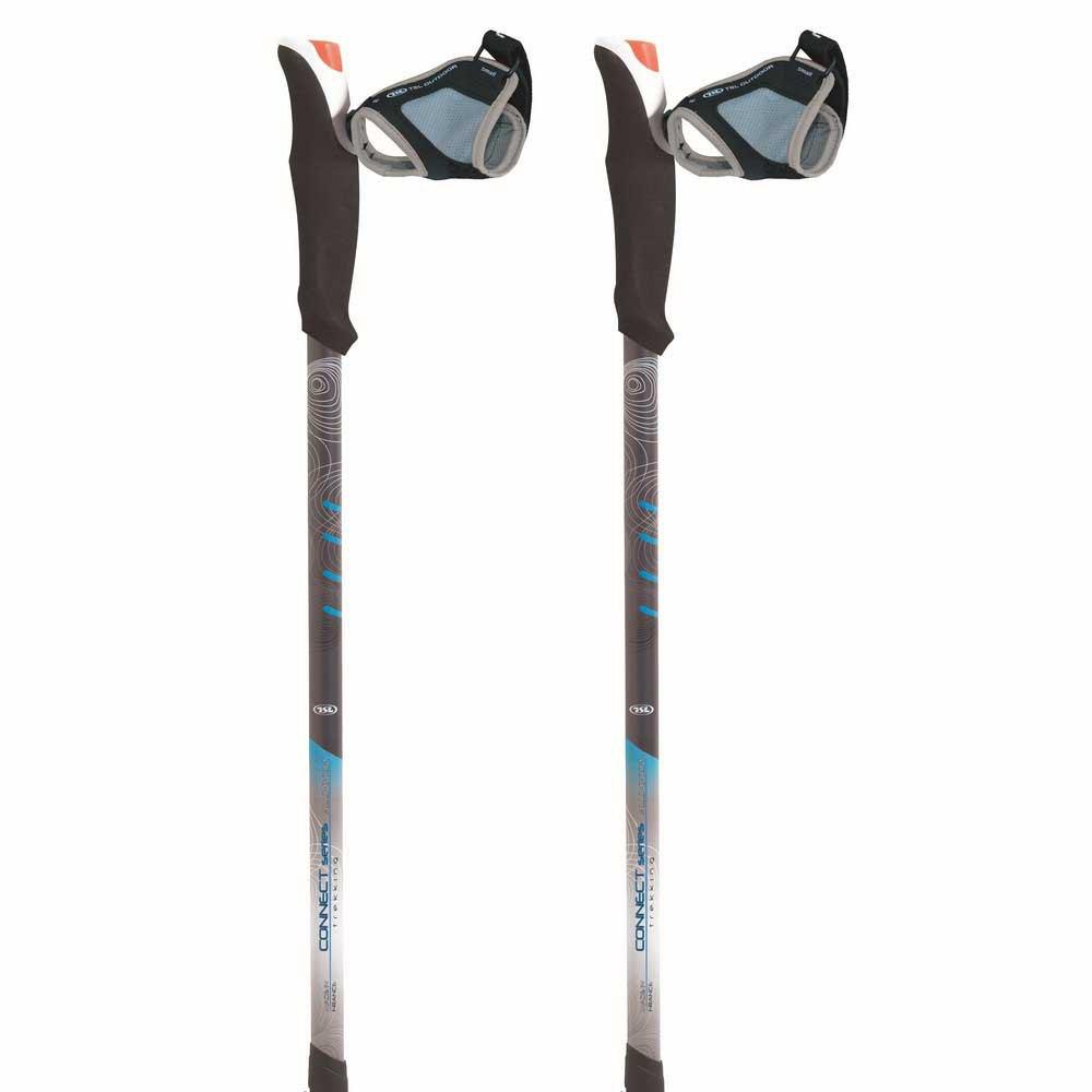 Tsl Outdoor Connect Aluminium 3 Light St Twist 72.5-140 cm White / Grey / Blue