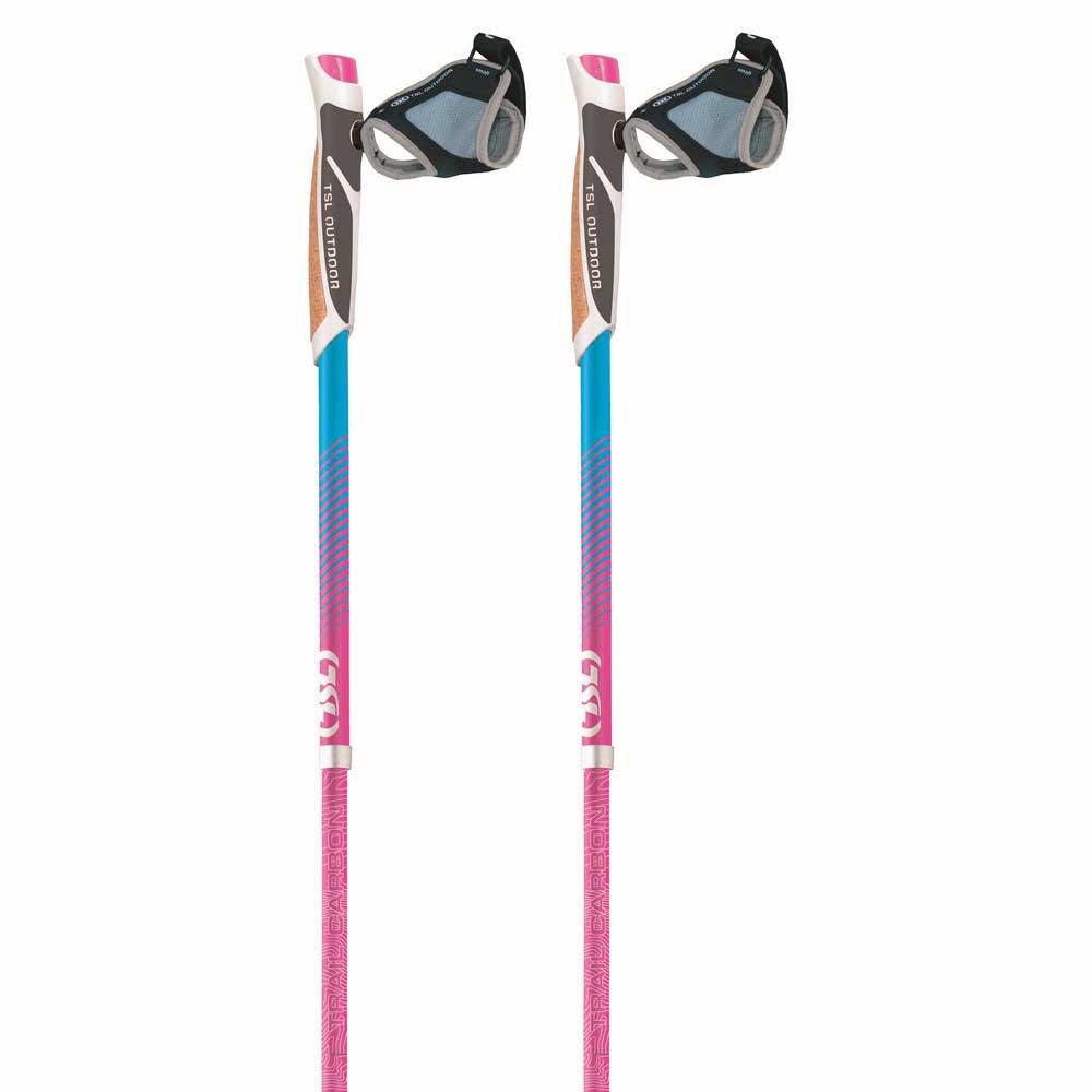 Tsl Outdoor Addict Trail Carbon 4 Sky Short 110 cm Pink / Blue