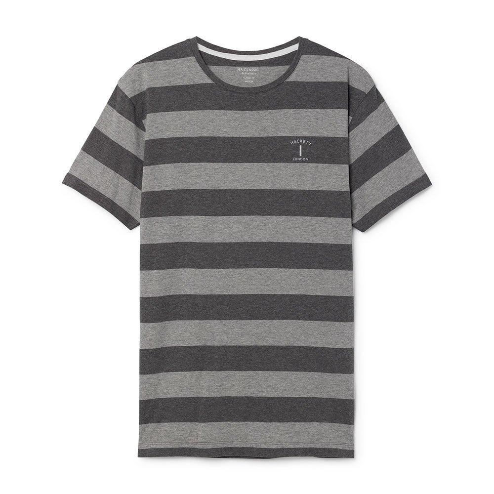Hackett Mr Classic Stripe XL Light Grey / Charcoal