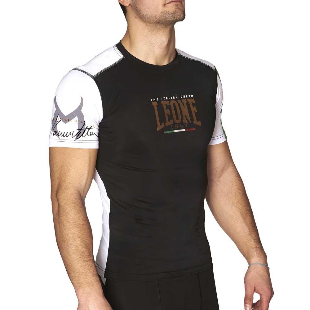 Leone1947 T-shirt Manche Courte The Italian Dream S Black
