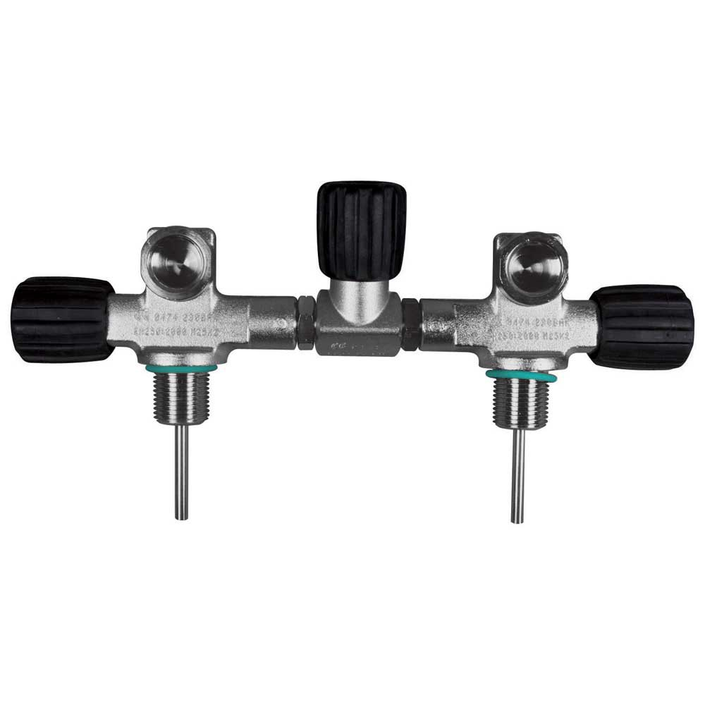 Oms Complete Isolation Manifold Up To 230 Bar 171 mm 8/10/12l Silver Armaturen Complete Isolation Manifold Up To 230 Bar 171 Mm 8/10/12l