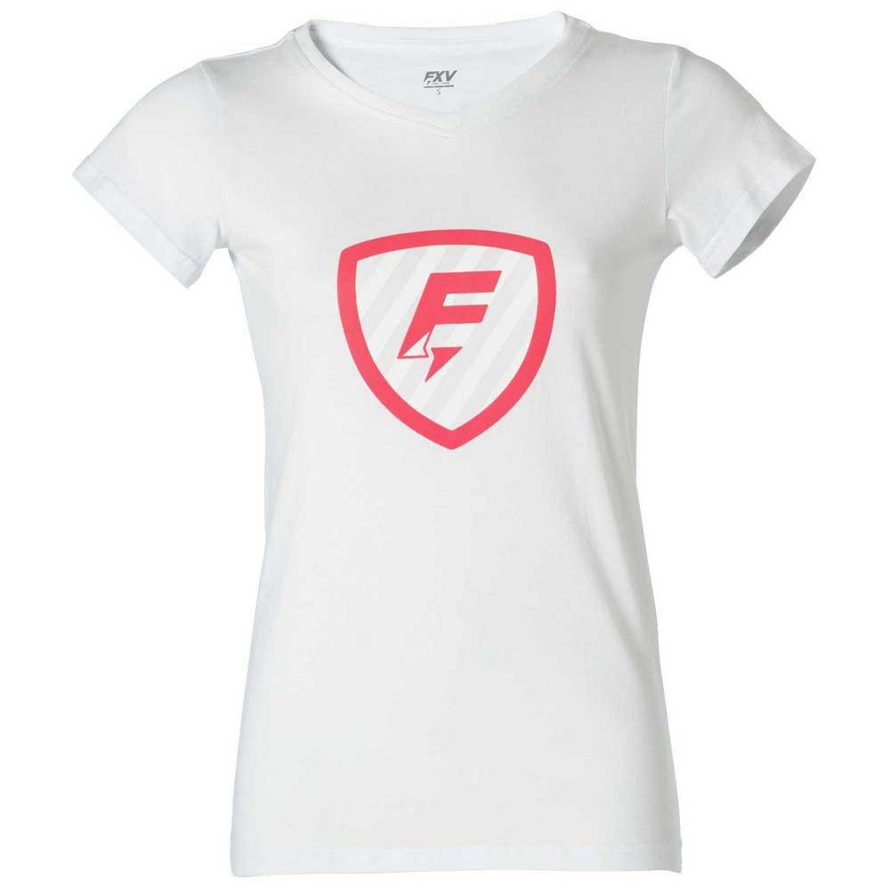 Force Xv T-shirt Manche Courte Blason XS White