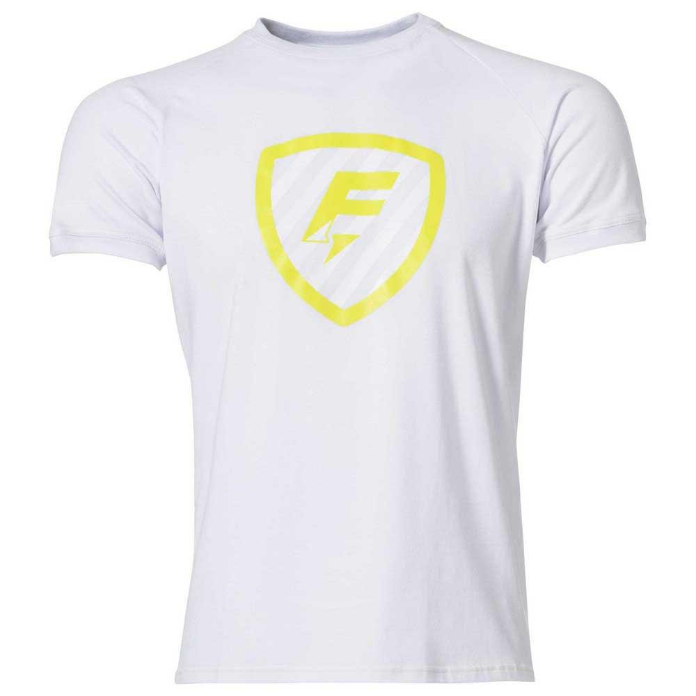 Force Xv T-shirt Manche Courte Blason S White