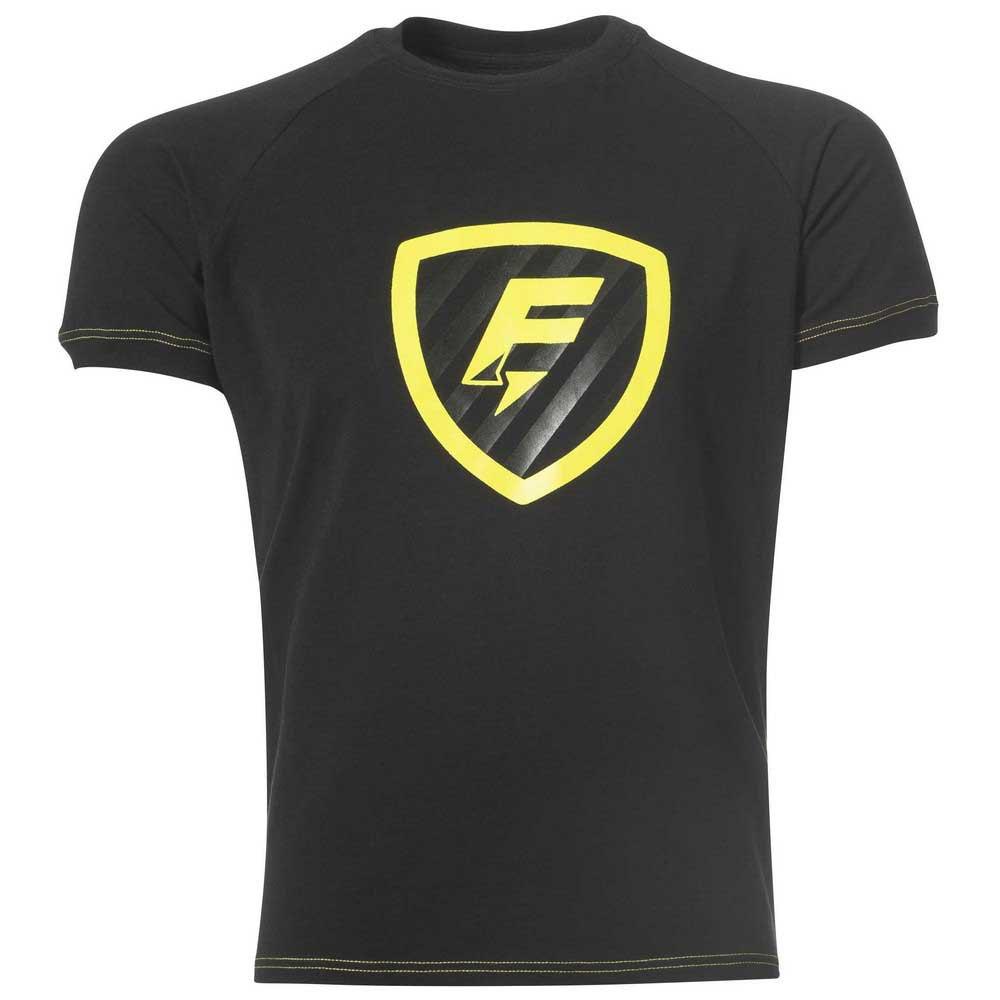 Force Xv T-shirt Manche Courte Blason S Black
