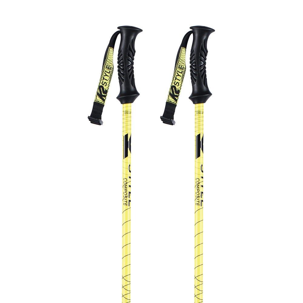 K2 Bâtons Style Composite 105 cm Yellow