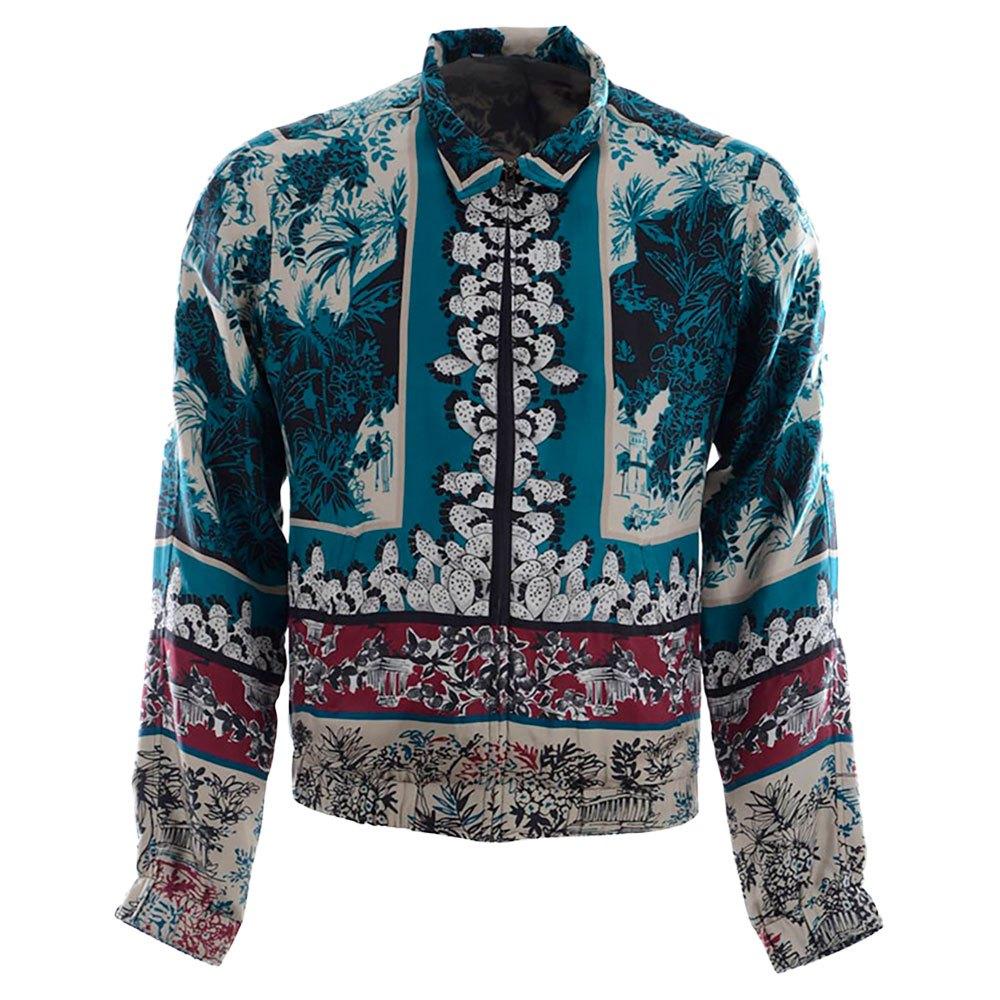 Dolce & Gabbana 728235 Silk Jacket 48 Blue