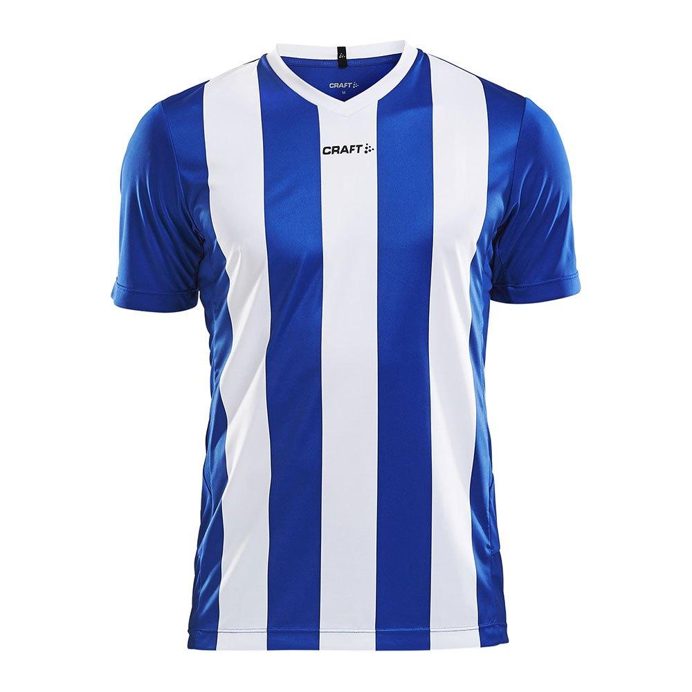 Craft T-shirt Manche Courte Progress Stripe XS Royal Blue