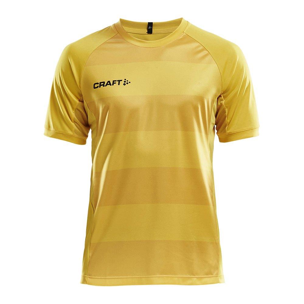 Craft T-shirt Manche Courte Progress Graphic XS Yellow / Blue