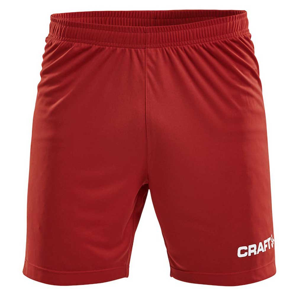 Craft Short Squad Solid Wb XL Bright Red / White