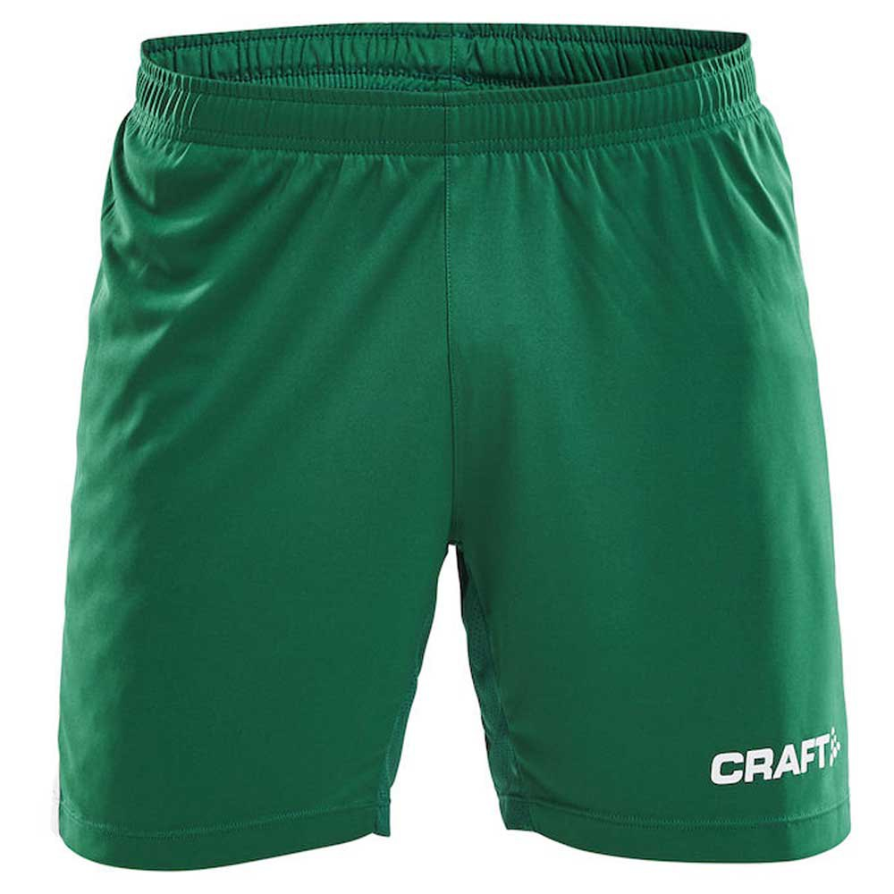 Craft Short Progress Contrast Wb S Team Green