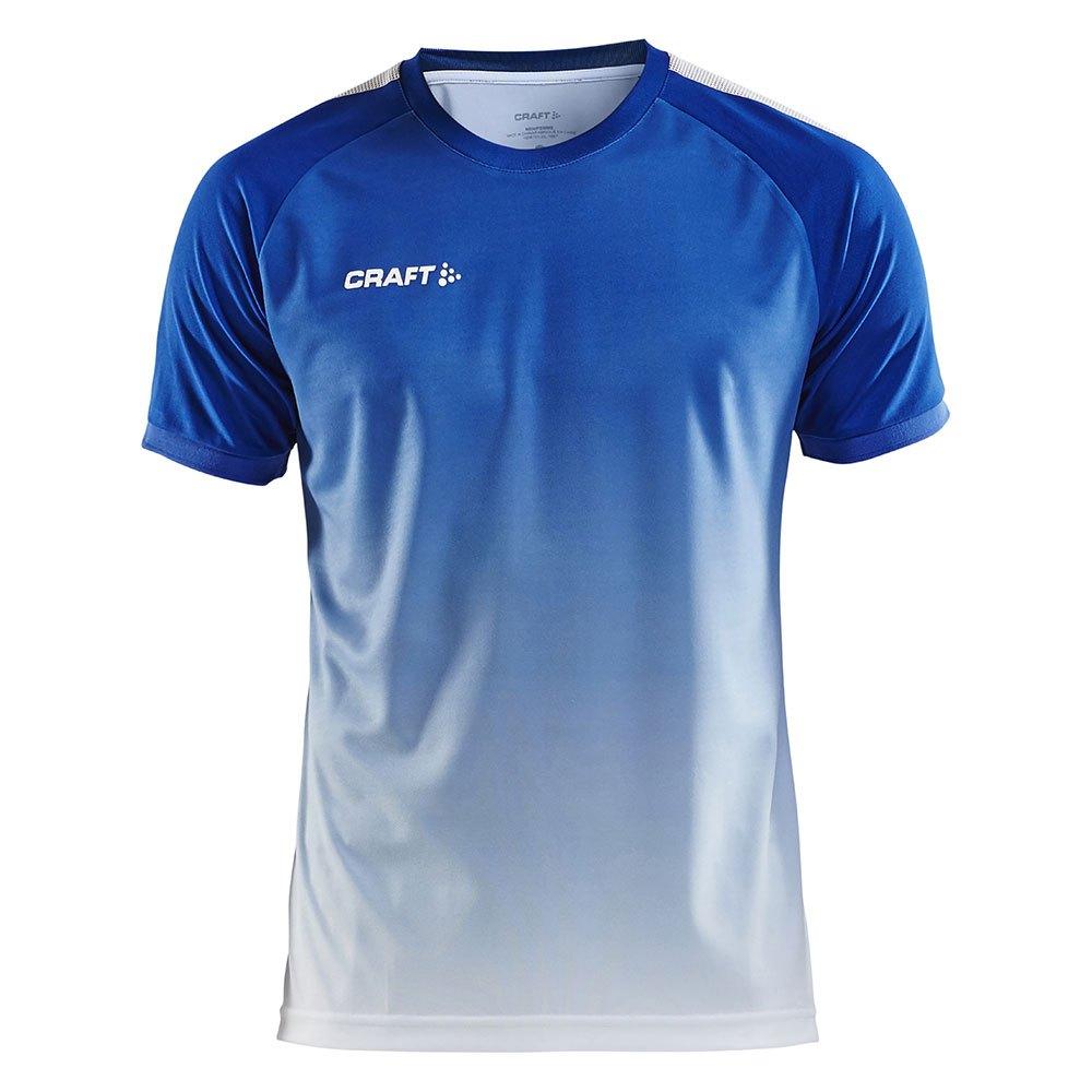 Craft T-shirt Manche Courte Pro Control Fade L Cobolt / White