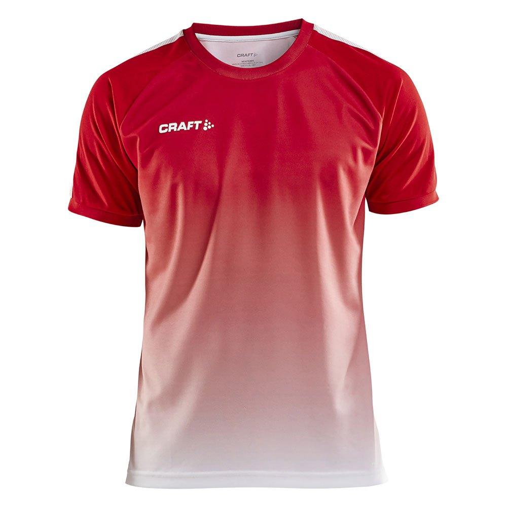 Craft T-shirt Manche Courte Pro Control Fade XS Bright Red / White