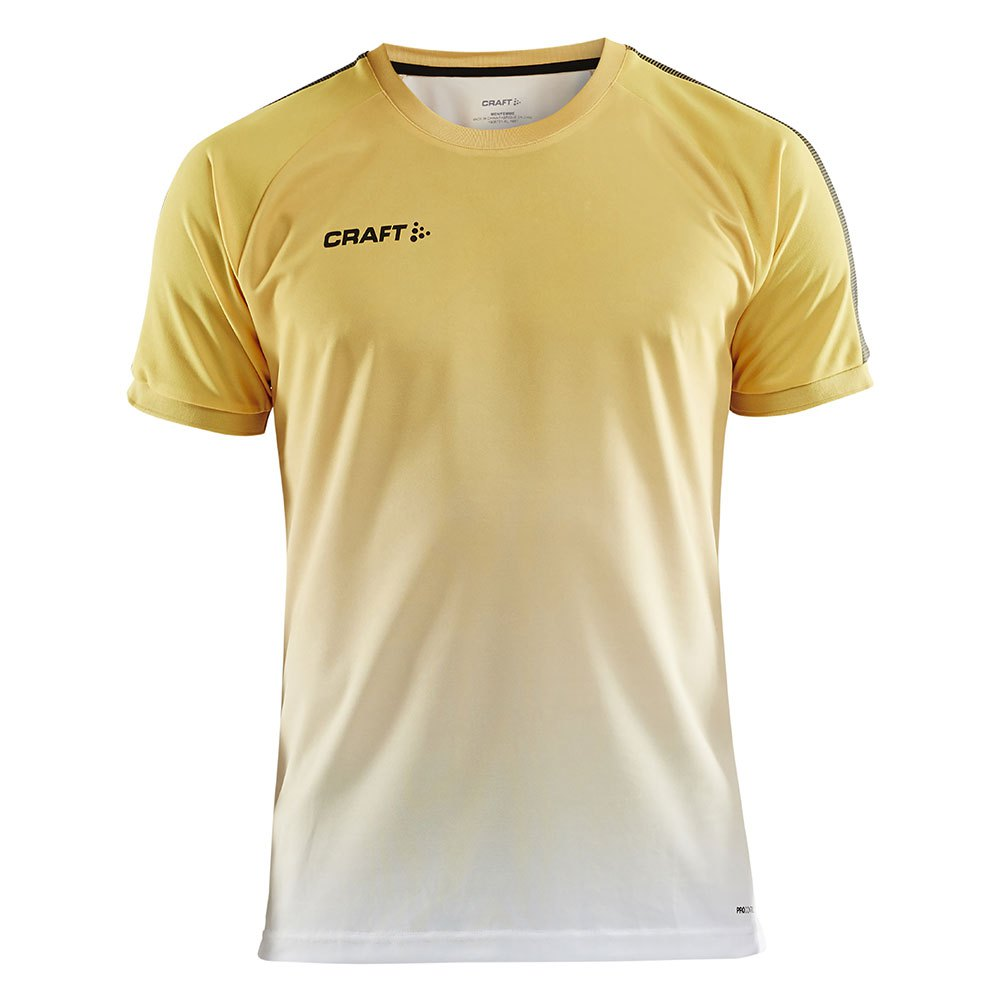 Craft T-shirt Manche Courte Pro Control Fade XS Yellow / Black