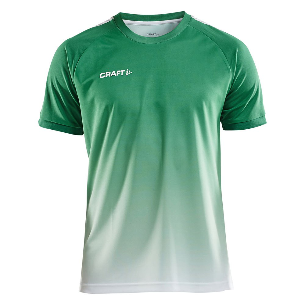 Craft T-shirt Manche Courte Pro Control Fade XS Team Green / White