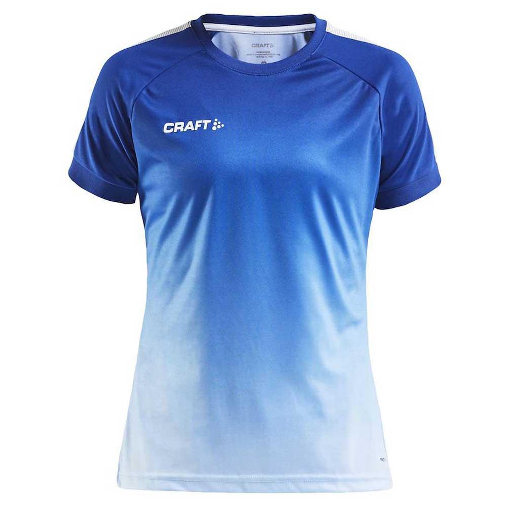 Craft T-shirt Manche Courte Pro Control Fade XS Cobolt / White
