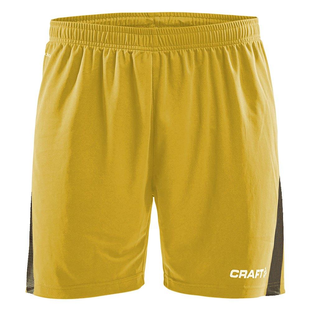 Craft Short Pro Control XS Yellow / Black
