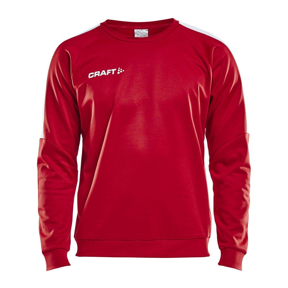 Craft Sweatshirt Progress Round Neck XS Bright Red / White