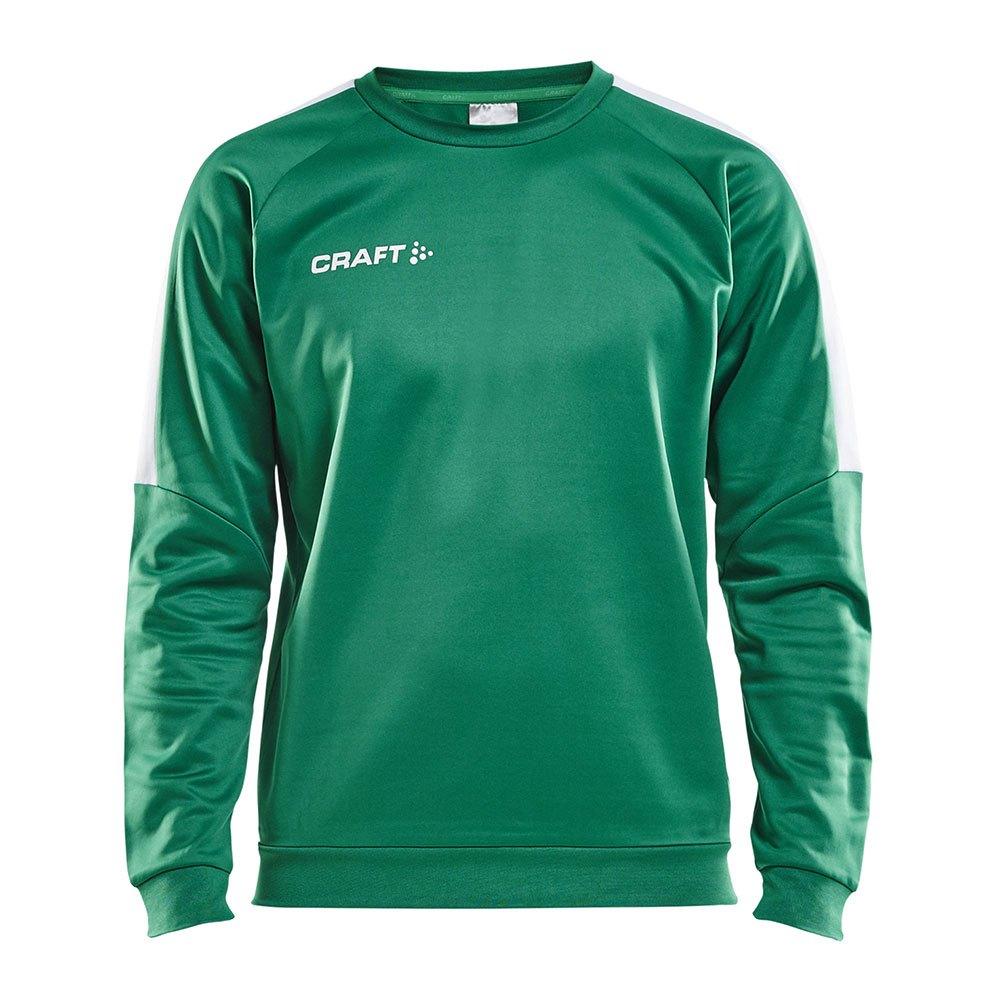 Craft Sweatshirt Progress Round Neck XS Team Green / White