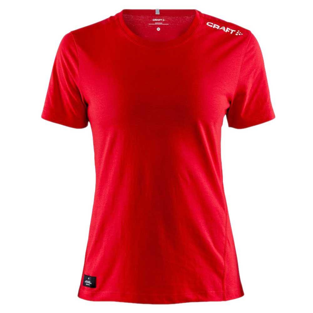Craft T-shirt Manche Courte Community Mix XS Bright Red
