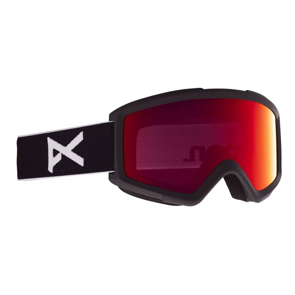 Anon Masque Ski Helix 2.0+lentille De Remplacement Perceive Sunny Red/CAT3+Amber/CAT1 Black
