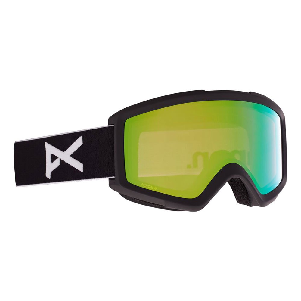 Anon Masque Ski Helix 2.0+lentille De Remplacement Perceive Variable Green/CAT2+Amber/CAT1 Black