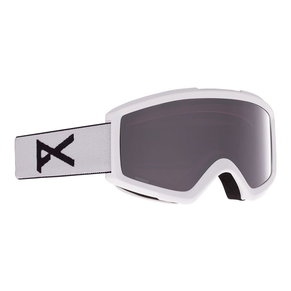 Anon Masque Ski Helix 2.0+lentille De Remplacement Perceive Sunny Onyx/CAT4+Amber/CAT1 White