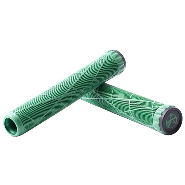 Addict Rubber Grips 175 mm Green