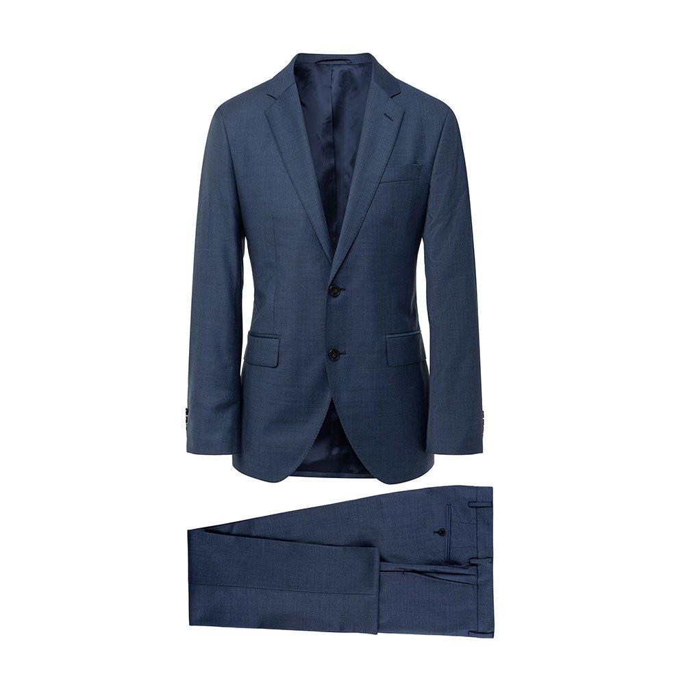Hackett Wool Sharkskin B 46 Blue