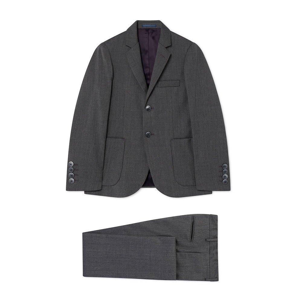 Hackett Wool Suit Boy 2 Years Grey