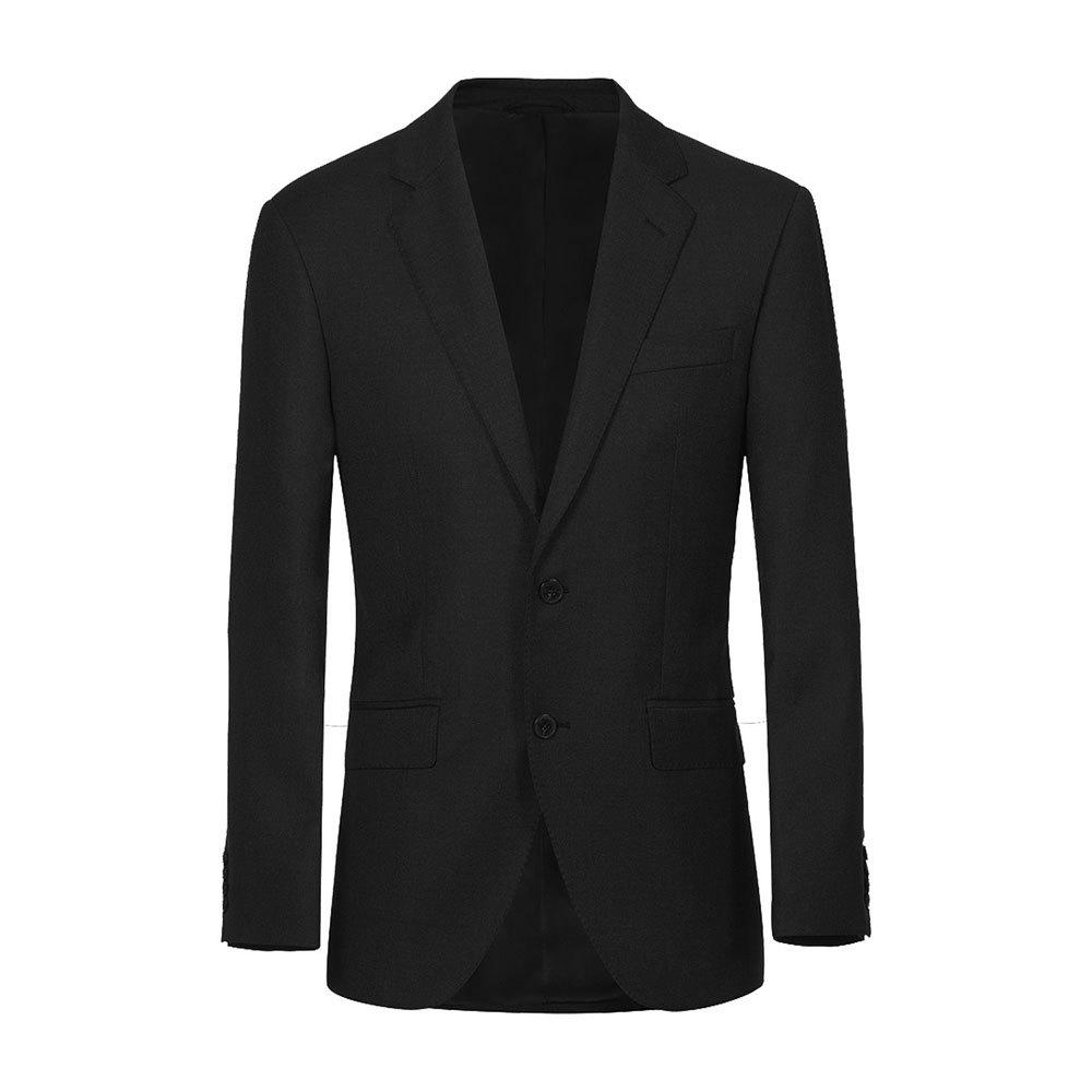 Hackett 120s Lp Plain Wool 40 Black