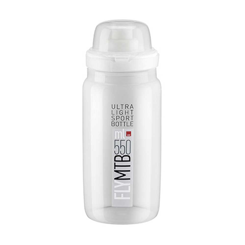 Elite Fly Mtb 550ml One Size Clear / Grey