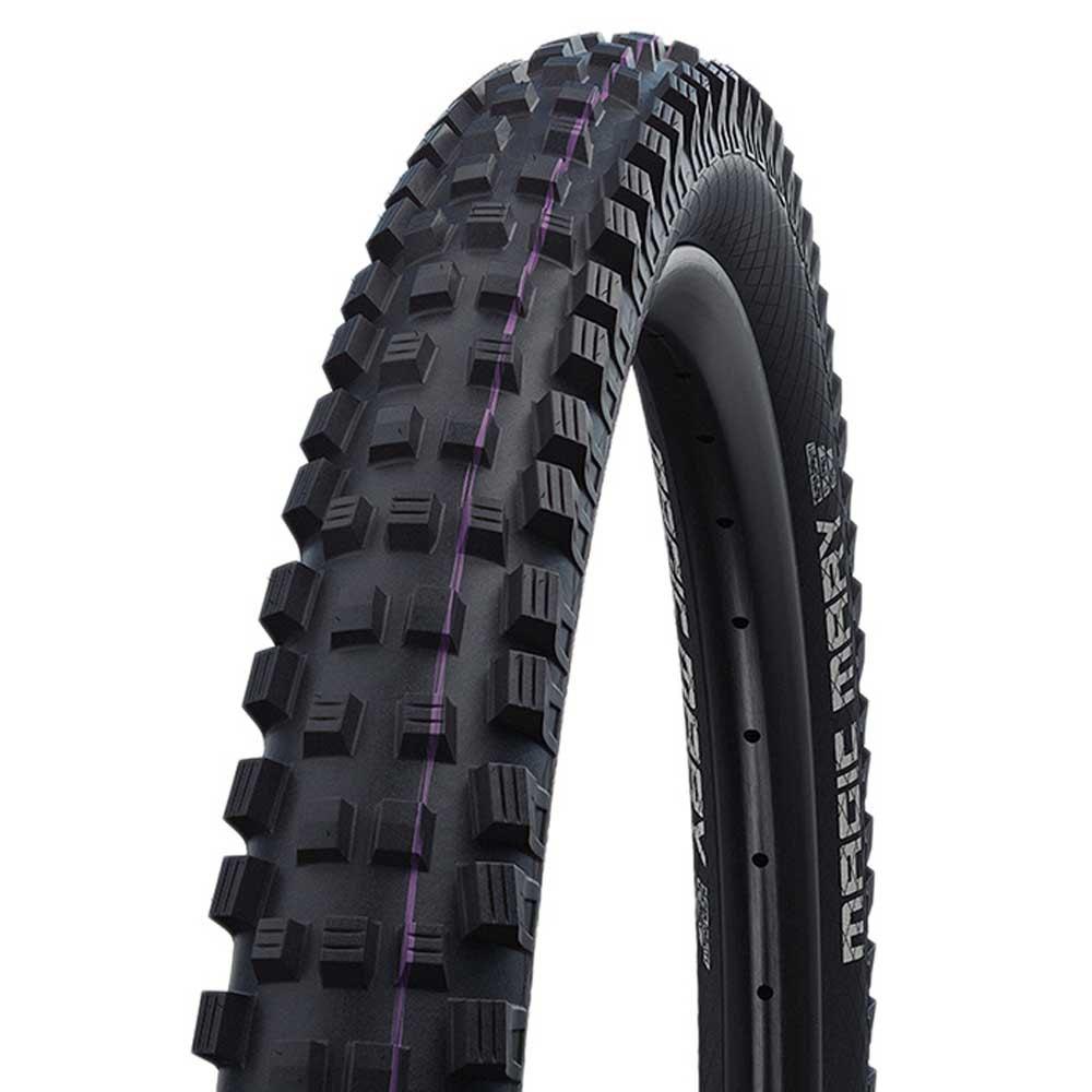 Schwalbe Magic Mary Evo Super Downhill Addix Ultra Soft 26´´ Tubeless Foldable Mtb Tyre 26 x 2.35 Black