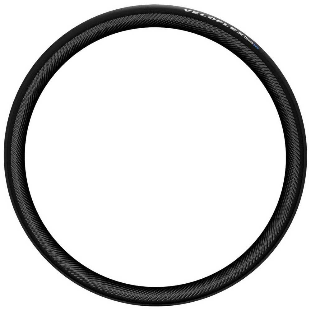 Veloflex Copertone Strada Corsa Evo Open Tubular 700 x 23 Black