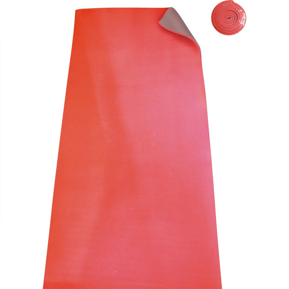 Krafwin Gym / Yoga Mat 180 x 61 x 1 cm Red / Grey