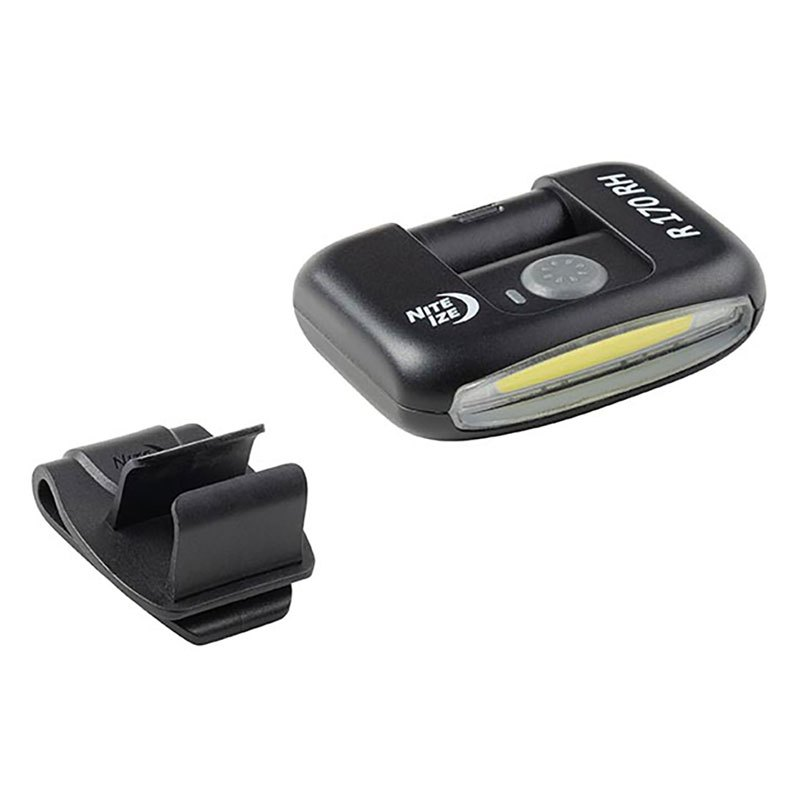 Nite Ize Radiant 170 Clip-on Rechargeable 170 Lumens Black