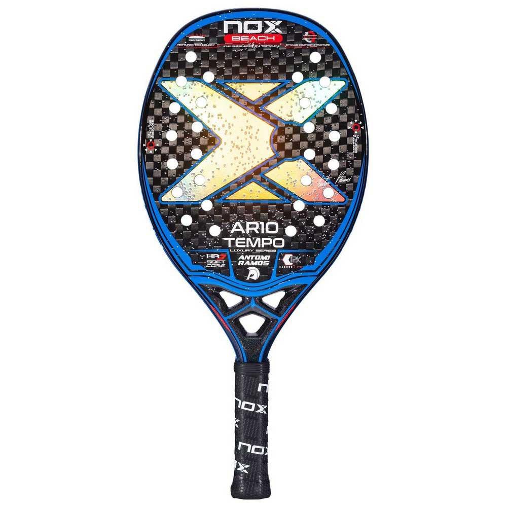 Nox Ar10 Tempo Beach Tennis Racket One Size Black / Blue