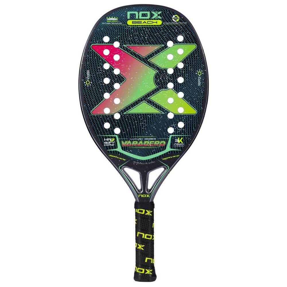 Nox Raquette Tennis Plage Varadero One Size Black / Red / Green