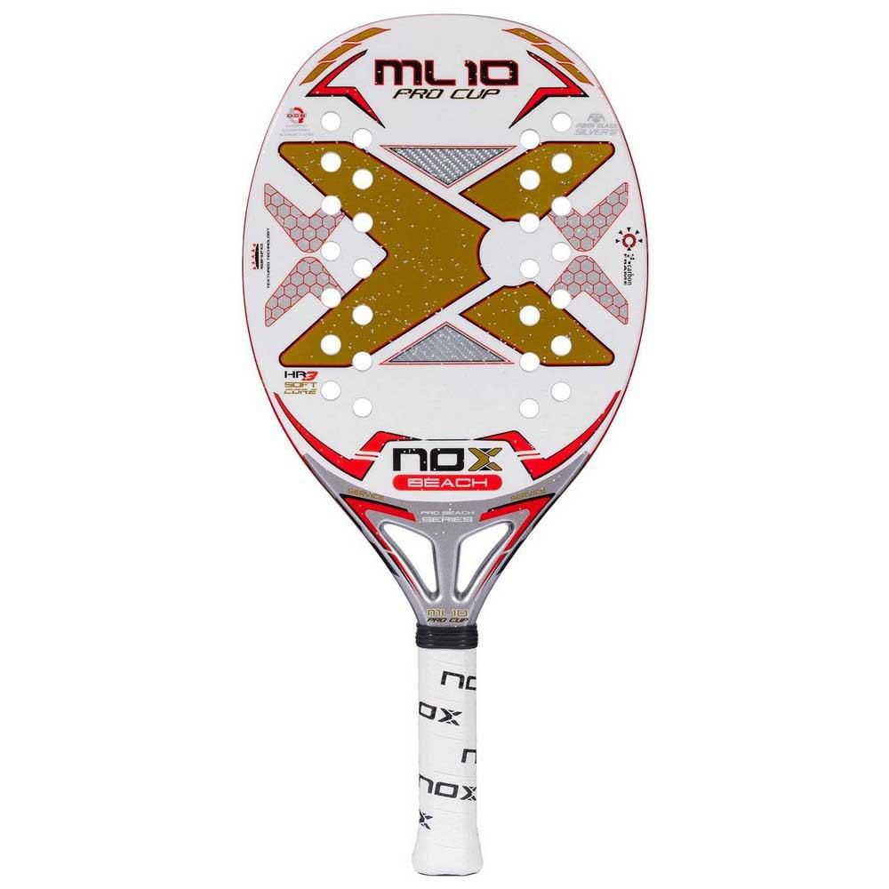 Nox Raquette Tennis Plage Ml Pro Cup One Size White